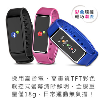 97#MyKronoz防水彩色觸控智慧手錶-黑 ZeFit3