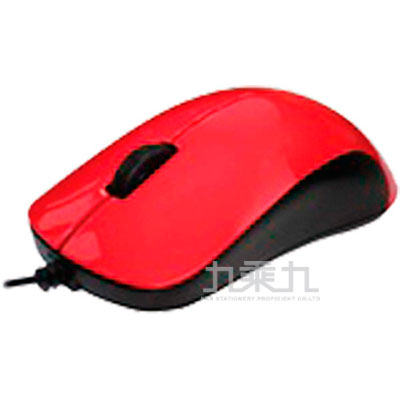 FUJITSU富士通有線滑鼠(紅)QH300(R)