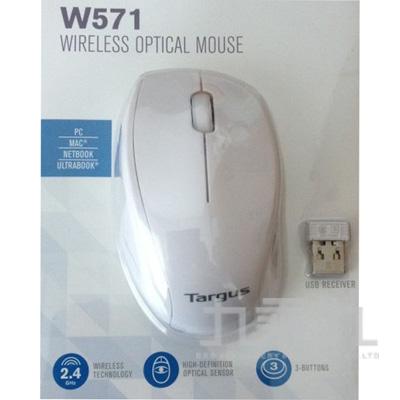 TARGUS W571 無線光學滑鼠-白