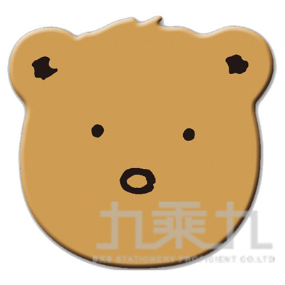 95#米爾熊滑鼠墊-褐 SPB-31B