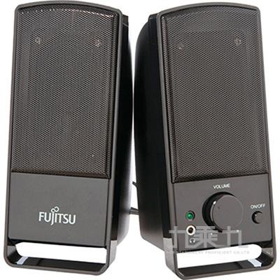 富士通AC供電2.0聲道多媒體喇叭(PS-120)