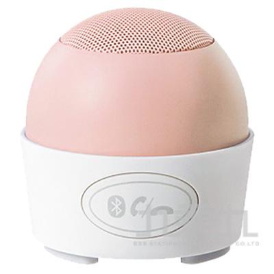 粉漾馬卡龍藍牙喇叭-甜桃粉35-PU9901