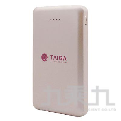 TAIGA輕薄11000系列行動電源-玫瑰金色