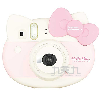 富士馬上看相機KITTY造型相機(粉)---公司貨