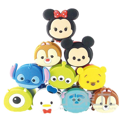94#Disney Tsum Tsum USB電源轉換插座-奇奇