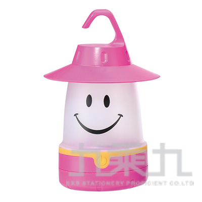 微笑LED提燈(紳士帽)-桃紅 PEVS1010RB
