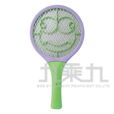 憤怒蛙迷你電池式電蚊拍 ZY-EM208