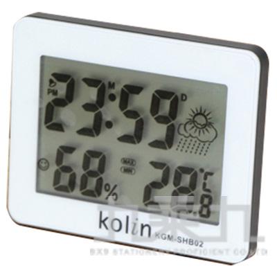 97#歌林大螢幕溫濕度計 KGM-SHB02