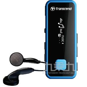 創見 8G MP350音樂播放器(藍色)