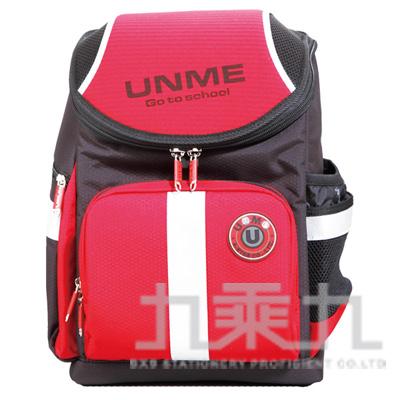 UNME 護脊書包-紅 3071
