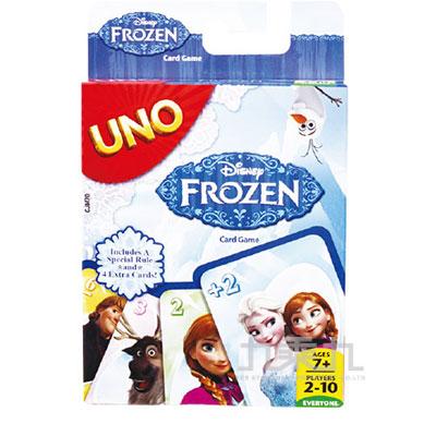 UNO冰雪奇緣遊戲卡