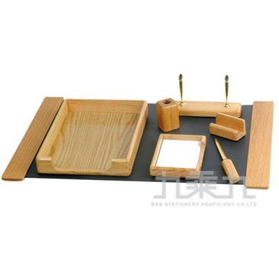 95#MBS橡木桌上組合(七件式)