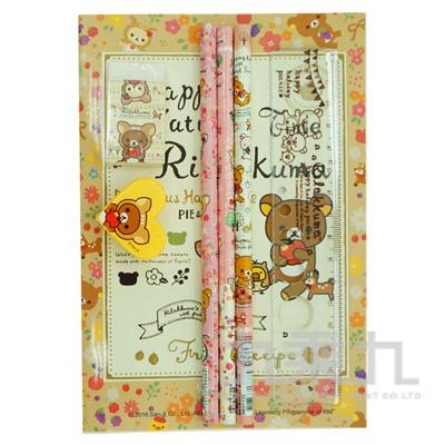 拉拉熊OPP袋文具組小鹿版 RK07039B