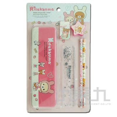 拉拉熊泡殼文具組草莓兔兔版 RK07189A
