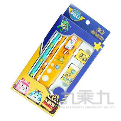 波力鉛筆文具組 POWT75-1