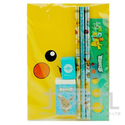 精靈寶可夢袋裝筆記文具組 PKWT95-1