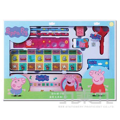 粉紅豬小妹盒裝文具組(大)(2) PGWT220-2