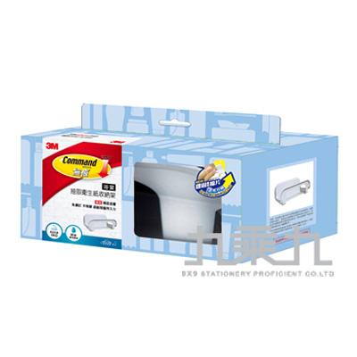 3M浴室防水抽取衛生紙收納架 17653D