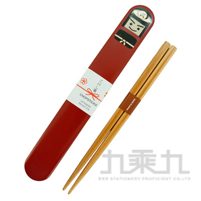 日本傳統筷子+人偶盒/武士 Prime-n:173832