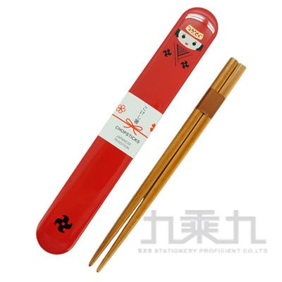 日本傳統筷子+人偶盒/女忍者 Prime-n:173863