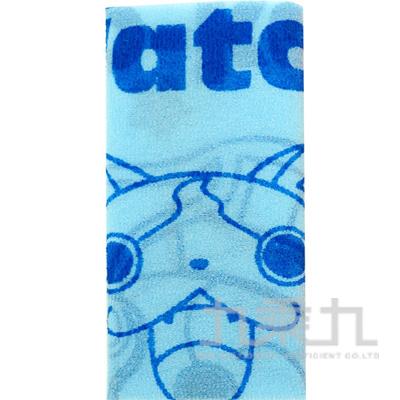 妖怪手錶沐浴巾藍版 YW51011B