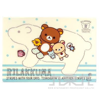 拉拉熊多功能止滑墊-北極熊版 RK02391A