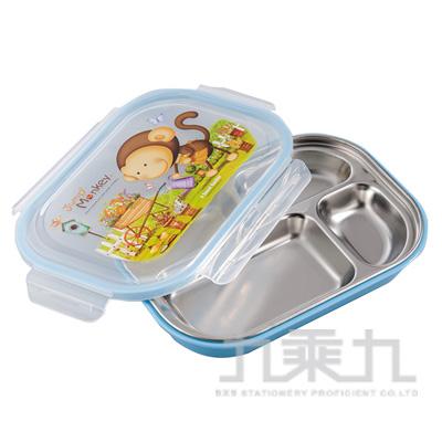 跳跳猴不鏽鋼隔熱餐盤 MJ-067