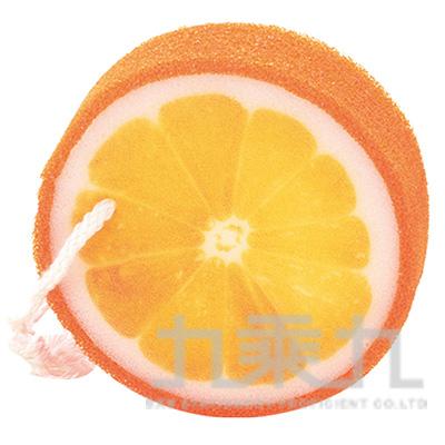Fruits果物沐浴海棉-柳橙 SK777-2