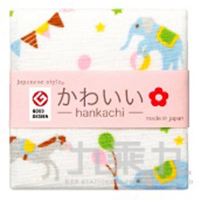 90#js kawaii小方巾-馬戲團 JK-3587 161204