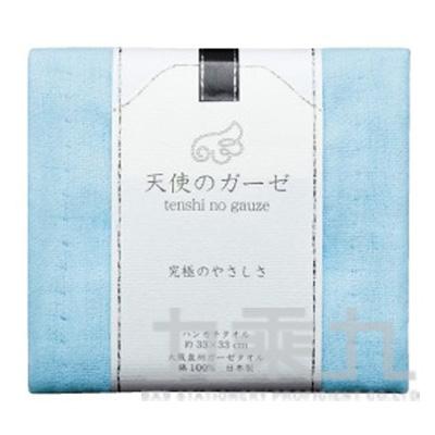 (無撚紗使用)大阪泉州小方巾-藍TE-501 121104