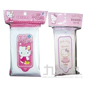 粉KITTY溼巾10