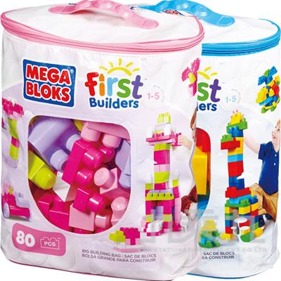 MEGA BLOKS-美高80片積木袋