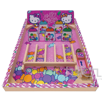 Hello Kitty木製彈珠台