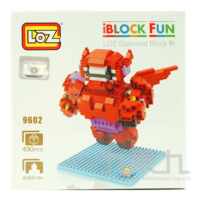 積木-LOZ大紅 9602