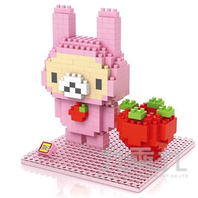 積木-草莓熊 9435