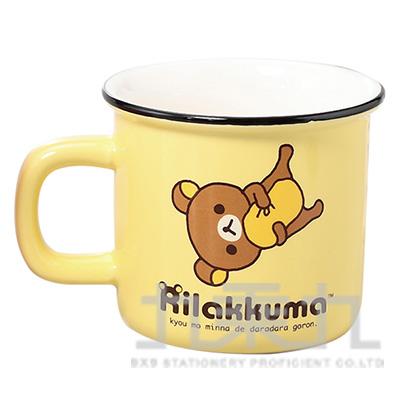 拉拉熊口壺馬克杯黃版 RK58371B