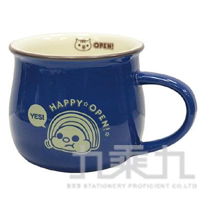 OPEN-Chan雙色牛奶杯(藍) O-CP39