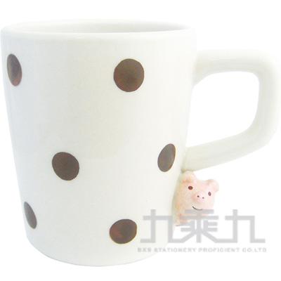 偷看馬克杯-粉紅豬ZCB-25422
