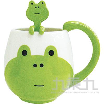 動物湯匙馬克杯-青蛙CB-21709