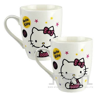 Hello Kitty義式咖啡對杯組260ml KT-P260