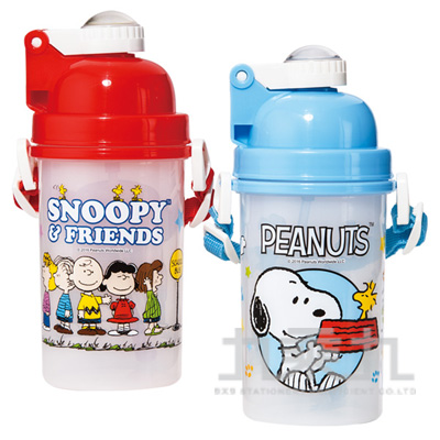 Snoopy 史努比500C.C彈蓋水壺-2款