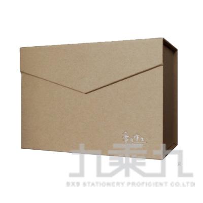 手作之 2號信封禮物盒(牛皮) SBS-23A