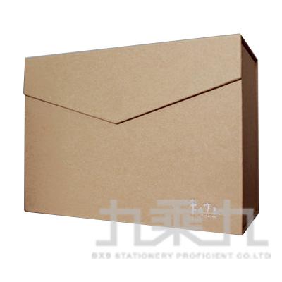 手作之 3號信封禮物盒(牛皮) SBS-24A