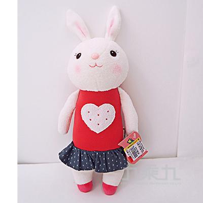 35cm提拉米兔玩偶-桃心款 M746-6