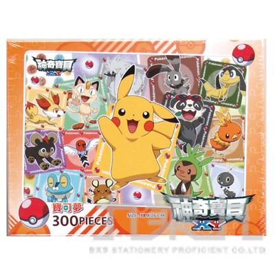 98#神奇寶貝XY300片盒裝拼圖(A) POK13A