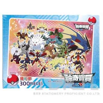 98#神奇寶貝XY300片盒裝拼圖(B) POK13B