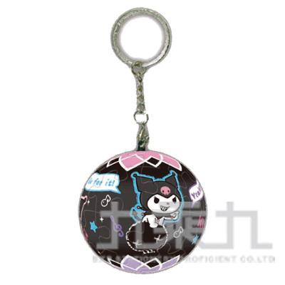 96#Kuromi小惡魔球形拼圖鑰匙圈24片 HP0124096