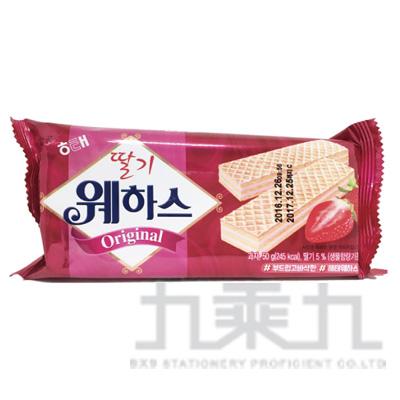 98#韓國威化餅-草莓50g