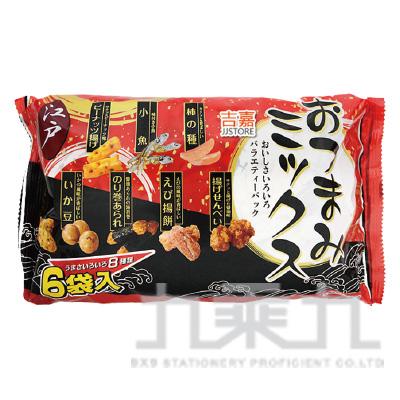 江戶6袋8種類綜合米果130g