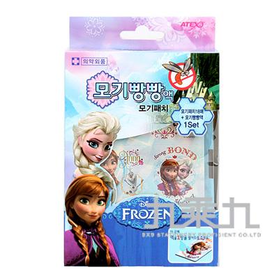 冰雪奇緣防蚊貼片+補充液 04852